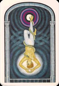 O Pendurado – The Jungian Tarot